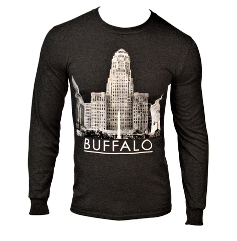 BFLO City Hall Long Sleeve T-Shirt