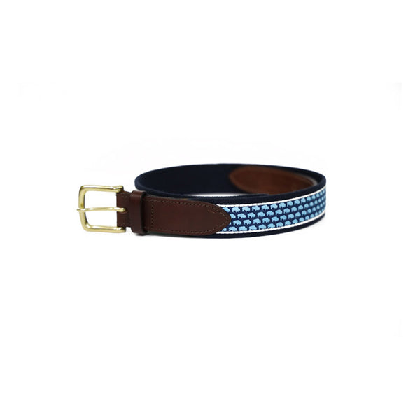 BFLO Custom Vineyard Vines Canvas Belt