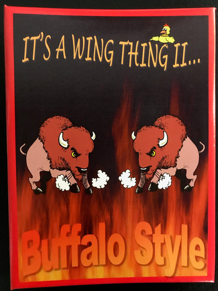 """It's a Wing Thing II... Buffalo Style"" Book"