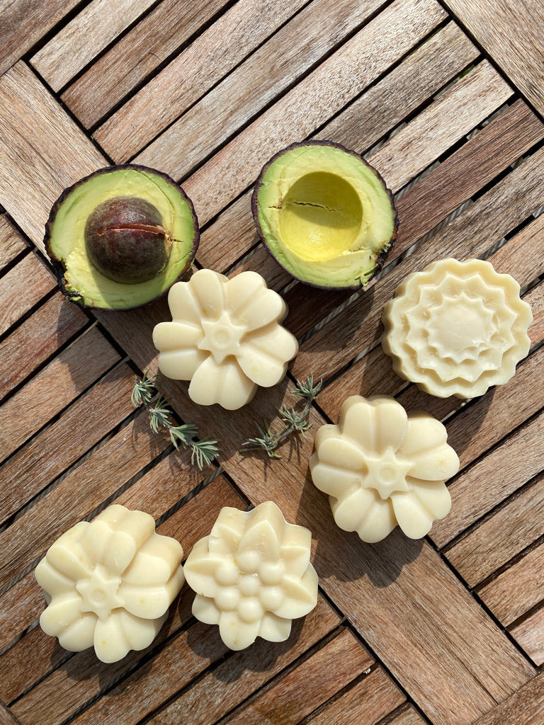 Solid Shampoo Bar - All Natural Avocado