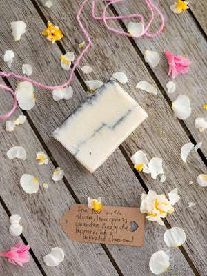 Luxurious Spa Bar with White Kaolin Clay