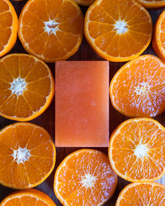 Mimosa and Mandarin with triple butters Body Soap