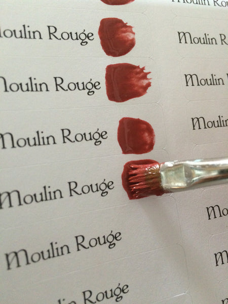 Moulin Rouge Chalky Patina