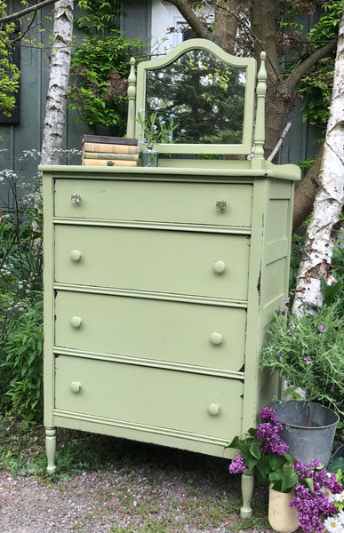 "Chalky Patina ""Crushed Sage"""