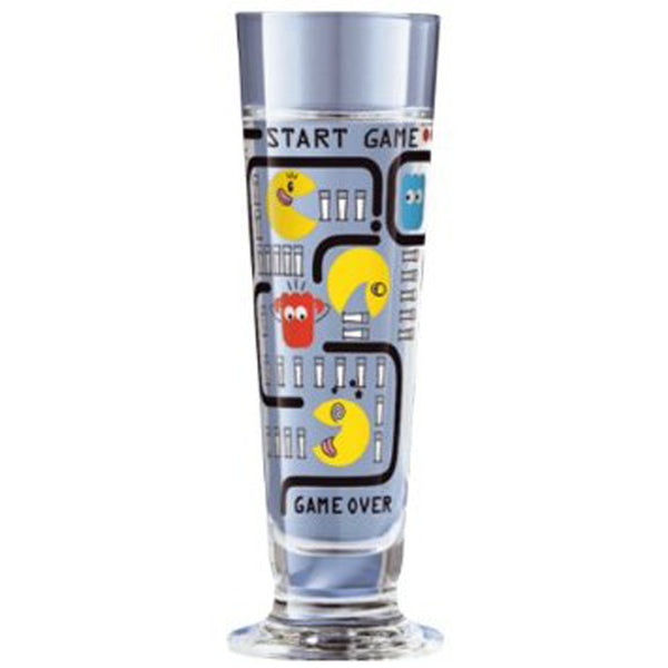 Ritzenhoff Pacman Schnapps Shot Glass with Coasters