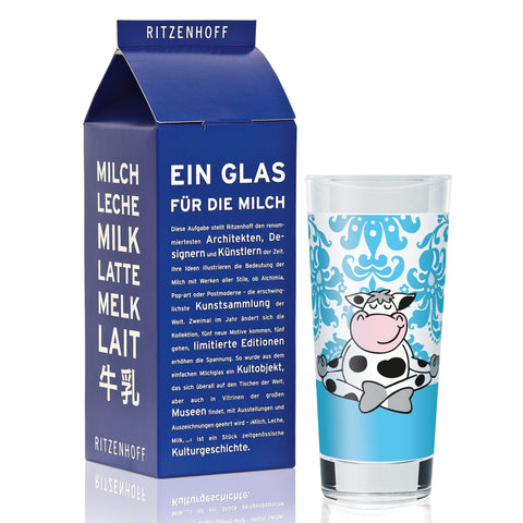 Ritzenhoff Yoga Cow Milk Glass