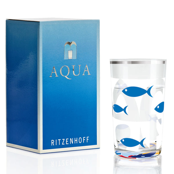 Ritzenhoff Fish In The Sea Water glass