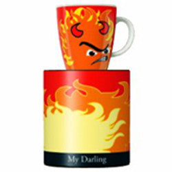 Ritzenhoff On Fire Coffee Mug