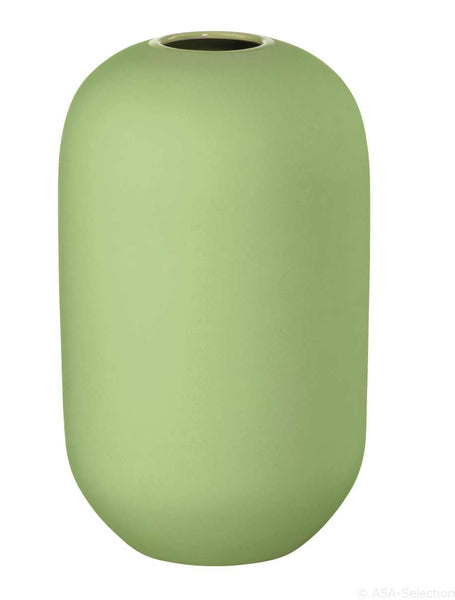 ASA Smoothies Design Coloured Stoneware Vase, Large Green