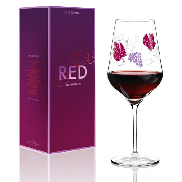 Ritzenhoff Vineyard Red Wine Glass