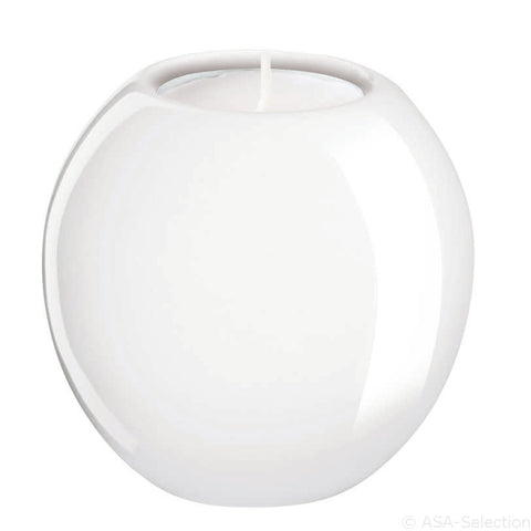 ASA White Candle Holder Ball, small