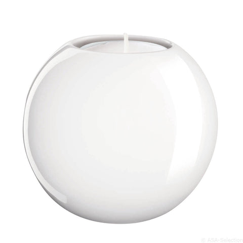 ASA White Candle Holder Ball