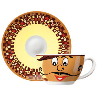 Ritzenhoff Cappuccino Cup and Saucer - 1610007