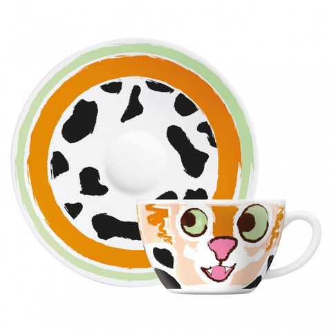 Ritzenhoff Hello Kitten Cappuccino Cup and Sauce