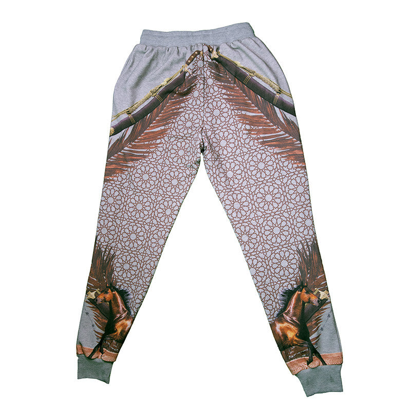 Sworded Horse Men Pants