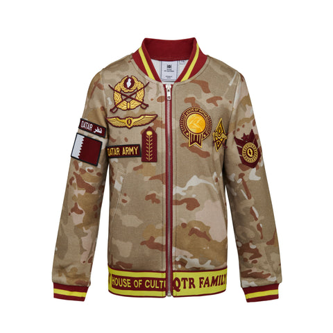 Army Jacket with Patches