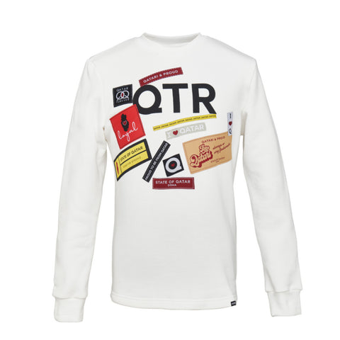 Another Tag Patch Sweatshirt