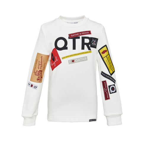 Tag Patch Sweatshirt