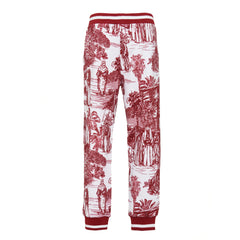Arabian toile de jouy printed Pants