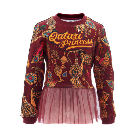 Qatari Princess sweater