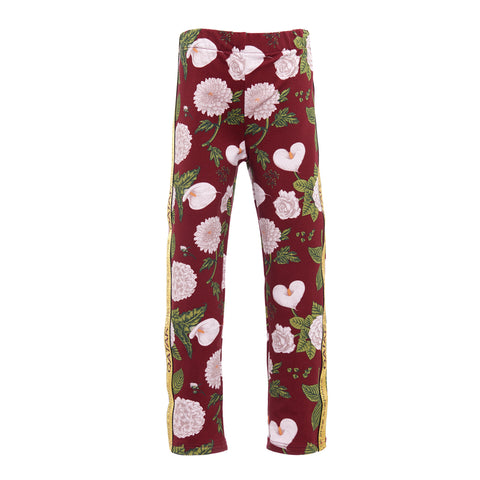 Botanical print Pants