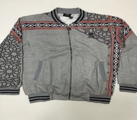 Geometric Sadu Men Jacket