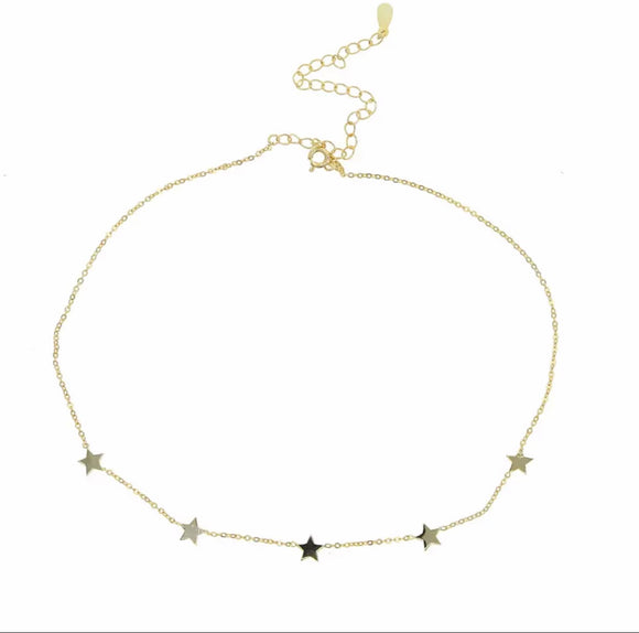 925 STERLING STAR NECKLACE