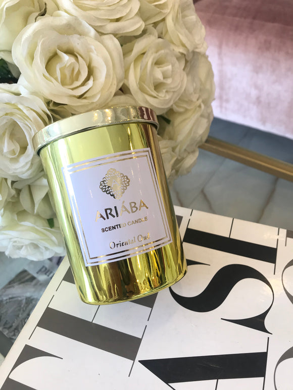 OUD SCENTED CANDLES