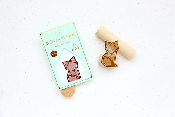 Arctic Fox Bookmark