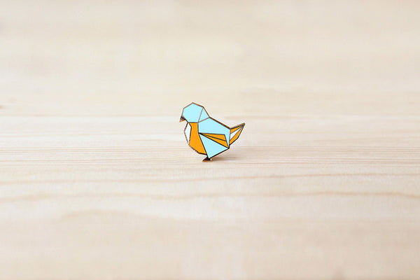 Finch Bird brooch