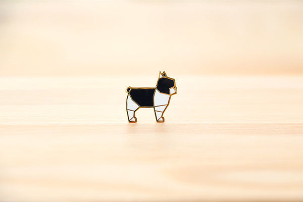 Frenchie Brooch