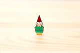 Mr or Mrs Garden Gnome brooch