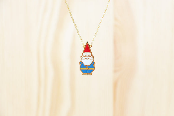 Garden Gnome Necklace