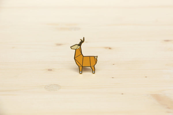 Deer brooch