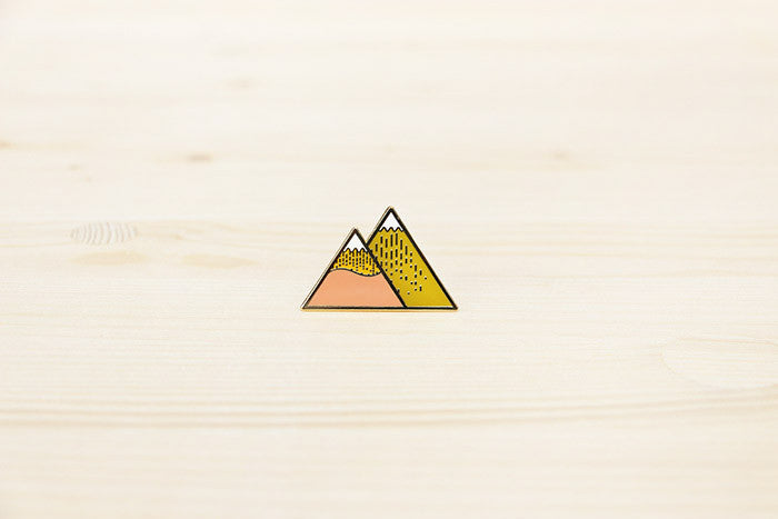 Autumn Mountain brooch