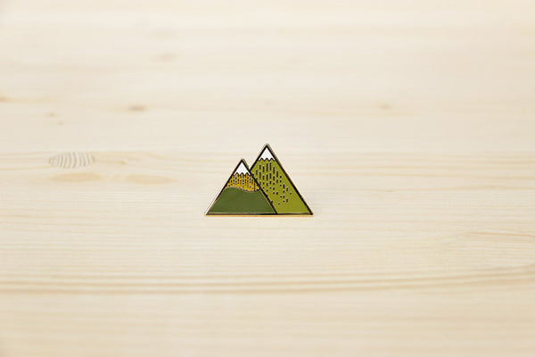 Summer Mountain brooch