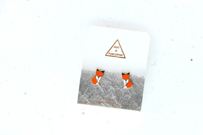 Woodland Fox Earring