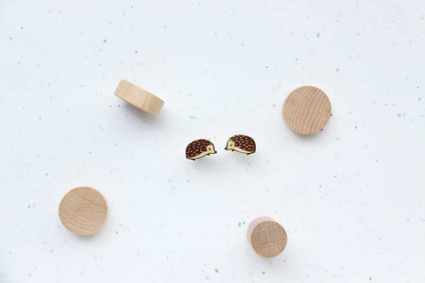 Hedgehog Earring