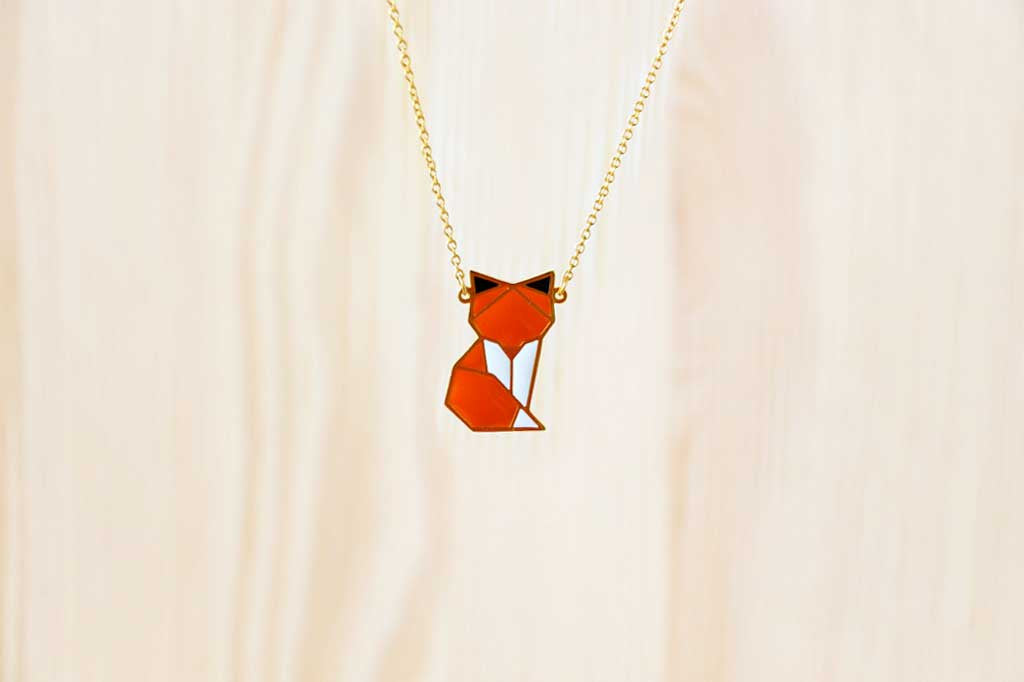 Woodland Fox Necklace