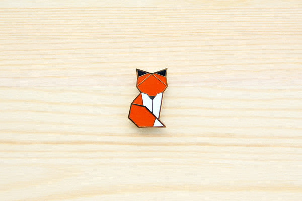 Woodland Fox Brooch