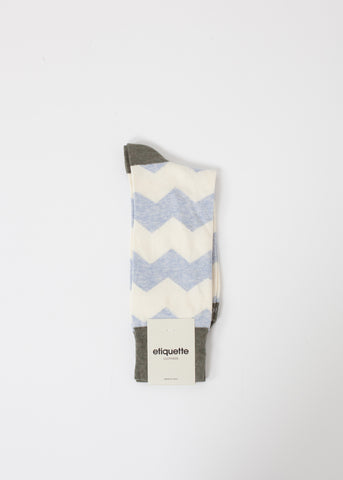 Everest Stripe Sock