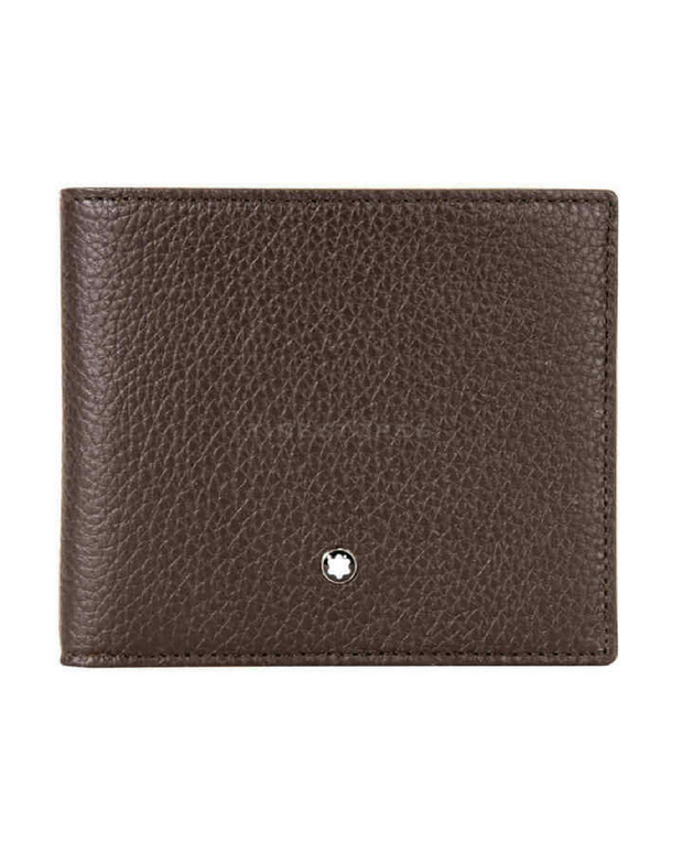 Montblanc - Meisterstuck 8cc Leather Wallet - Brown ( 114465 )