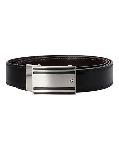 Montblanc - Blackbrown Reversible Cut-To-Size Business Belt ( 115478 )