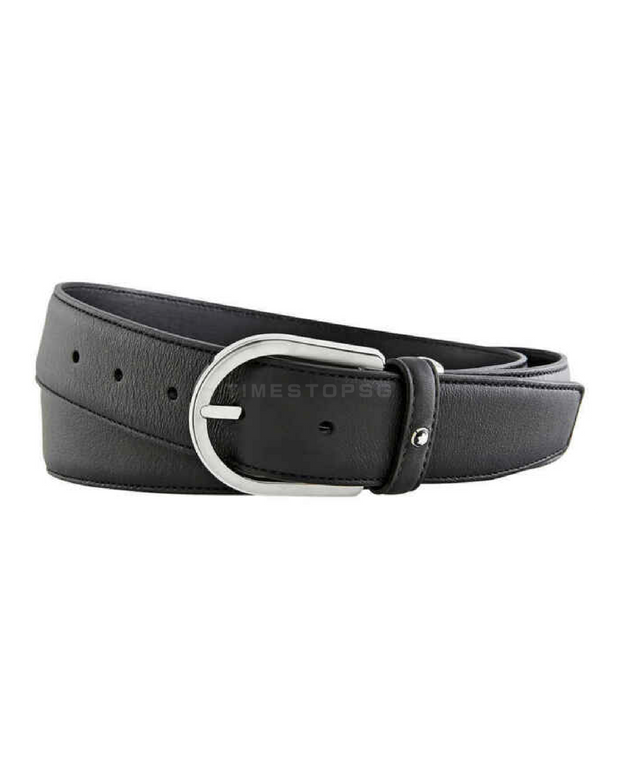 Montblanc - 35mm Grey Business Belt ( 118414 )