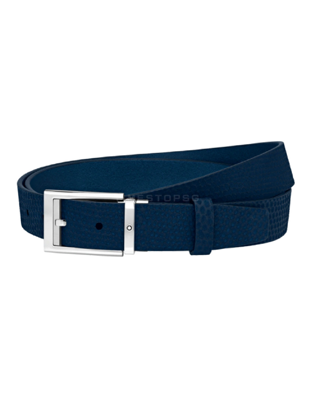 Montblanc - Blue Cut-To-Size Business Belt ( 123914 )