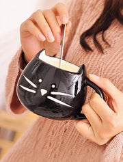 Cat Lovers Cute Mug