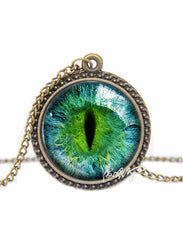Cat Eye Necklace - 70% OFF TODAY