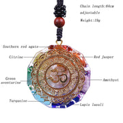 Orgonite Chakra Energy Necklace