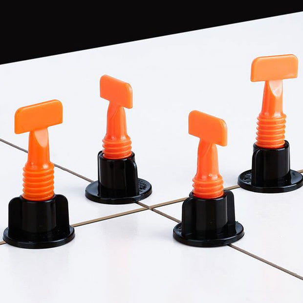 Reusable Anti-Lippage Tile Leveling System