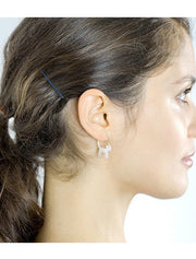 Sterling Silver Cat Tail Earrings - 50% OFF TODAY